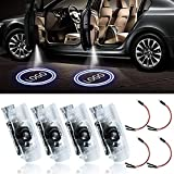 LED Car Door Logo Light Courtesy Projector Laser Welcome Lights Ghost Shadow Light Compatible with Accessories RX ES GX LS LX IS Series(4 Pack)