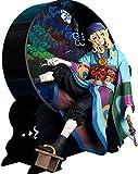 XLCMX Esthétique Classique HZXHDM JIE Mononoke-Vente médecine Main for Faire Pipe Raft Décoration Japonaise Kimono Modèle Anime Main Autour de [Emballage privé]