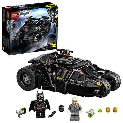 LEGO DC Batman Batmobile Tumbler: Resa Dei Conti Con Scarecrow, Macchina con Batman e Scarecrow, Regalo Bambini 8 Anni e Più, 76239