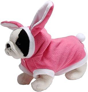 Cute Pet Dog Clothes Vestiti a Maglia per Cani di Piccola Taglia Coniglio Orecchie Puppy Cat Coat Giacche Inverno Maglione per Animali Domestici
