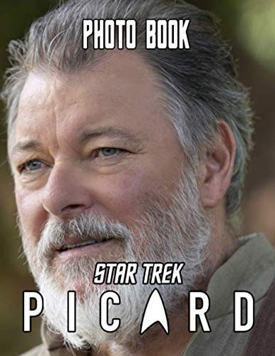 Star Trek Picard Photo Book: Star Trek Picard 20 Photo Pages Books For Adults, Teenagers