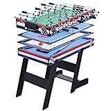 LANGTAOSHA 4FT 4 IN 1 Folding Combo Game-Tabelle Set, Billard-Billardtisch, Tischtennistisch,...