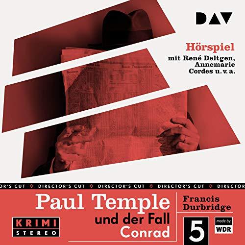 Paul Temple und der Fall Conrad. Original-Radio-Fassung Titelbild