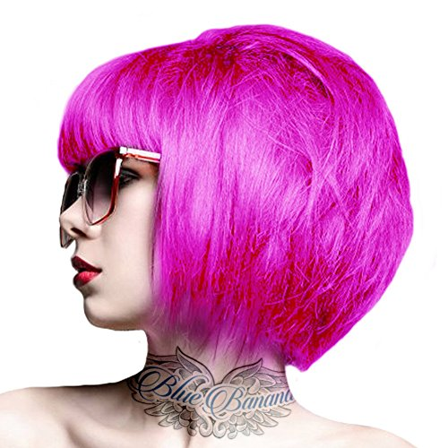 Crazy Color Semi-Permanent Hair Dye (Pinkissimo)