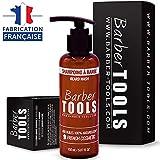 Shampoing à barbe - 150ml | Pour l'entretien et le soin de barbe - FABRIQUE EN FRANCE  BARBER TOOLS