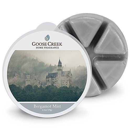 Goose Creek bergamotto Mist Candele di Cera, Grigio