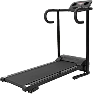 BESLUK 1100W Folding Treadmill with Device Holder, Shock Absorption and Incline