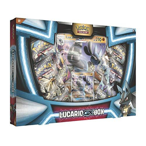 Pokemon TCG: Lucario Gx Box - 4 Booster Pack + A Foil Promo Card