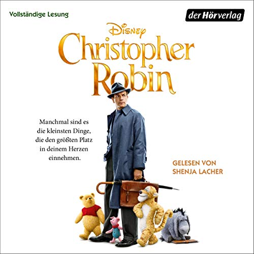 Christopher Robin audiobook cover art