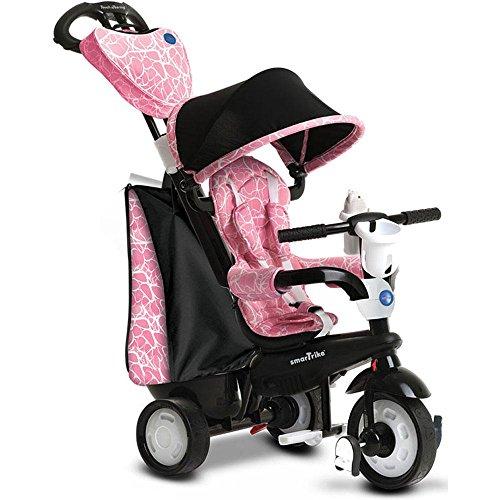 Tricycle de noir et rose chic