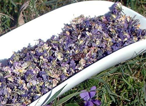 Krauterino24 - Veilchenblüten blau ganz (250g)