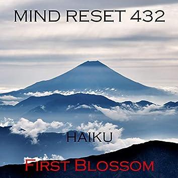 HAIKU (First blossom)