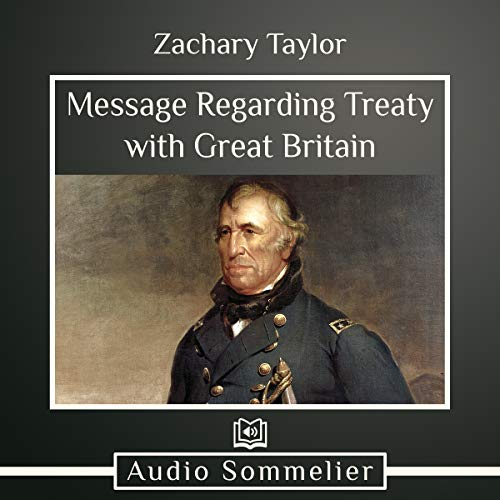 Message Regarding Treaty with Great Britain  By  cover art