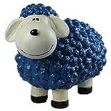Vamundo Süßes Deko-Schaf für den Garten - BLAU