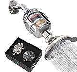SparkPod Filter Shower Head - High-Pressure Water Filtration for Chlorine & Harmful Substances...