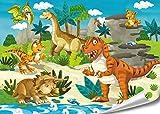 PMP 4life.® Wandbilder Babyzimmer Kinderzimmer Poster 4er