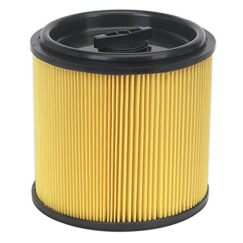 Sealey PC200CFL Locking Cartridge Filter for PC200 and PC300 Series, 194mm x 193mm x 191mm