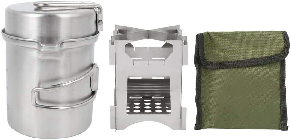Limited time trial 5 ☆ popular price Jarchii Stainless Wood Stove to Easy Portable Store