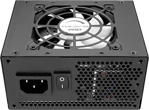 Tacens Radix ECO - Alimentatore per Computer, 400 W, micro ATX, Ventilatore 80 mm, 12 V, Ecologico, Nero