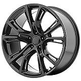 OE CREATIONS PR137 Gloss Black Wheel (20 x 10. inches /5 x 71 mm, 50 mm Offset)