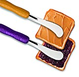 Mobi Peanut butter and jelly knife and spreader set