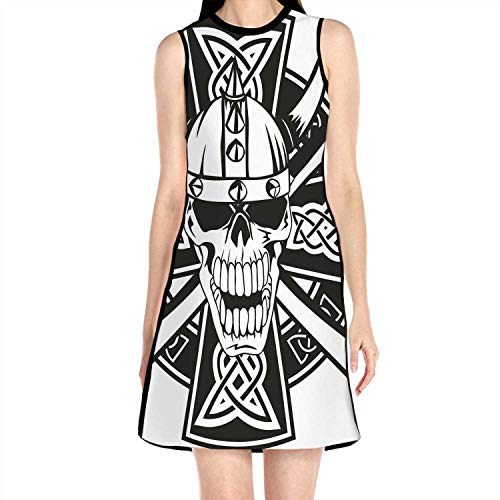 C COABALLA Celtic with ed Axes and,Summer Fashion Lady Dres L