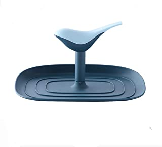 Frame, Multi-function, Convenient Storage, Not Afraid, Kitchen Sitting Pot Cover, Free Of Punching Rack (Color : Blue)