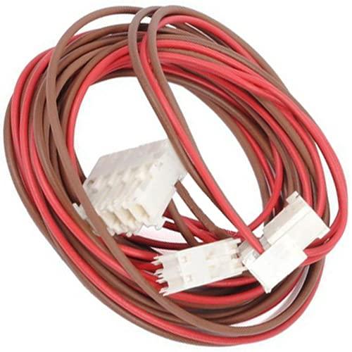 Spares2go - Telaio per cablaggio con serratura e scarico per porta compatibile con lavatrice Indesit e asciugatrice