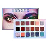 Beauty Glazed Pigment Eyeshadow Palette 18 Colors Matte Shimmer Pressed Nude Makeup Eye Shadow Powder Waterproof Cosmetic