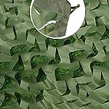 Cubierta De Red De Camuflaje Militar Verde, Red De Protección Solar De Lona De Bosque Para Tienda De Campaña De Caza Tiro Techo De Dormitorio, Restaurante Fiesta De Cumpleaños Decoración Del Hogar