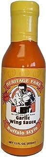 Heritage Fare Garlic Chicken Wing Sauce 12 Fl Oz