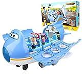 Baby Supplies HIL Super Wings Big Wing Aeropuerto Internacional Juguetes De Deformación Transformando Aviones Transformar-A-Bots Traje Grande Juguetes De Los Niños Regalo De Cumpleaños