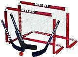 Mylec Deluxe Mini Goal Set White/Red, 30.5' x 23'