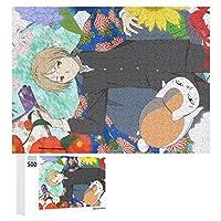 夏目友人帳大人の子供パズル初心者ギフトアニメ500個