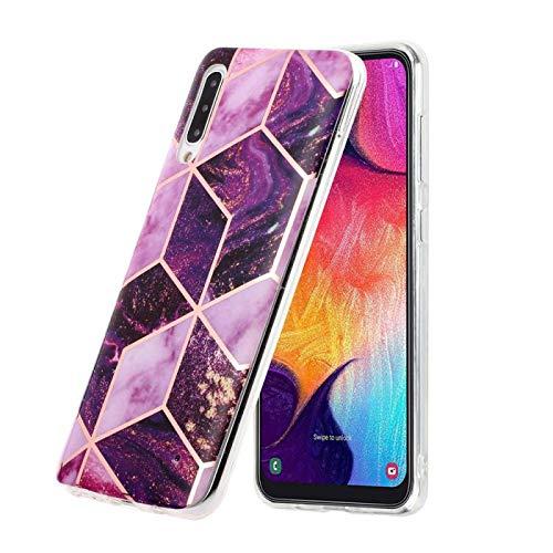 Bling Stylishen Glamour Glitzer Crystal Bumper Hülle für Samsung A70,Glänzend Glitzer Kristall Diamond Stoßdämpfend Durchsichtig TPU Silikon Gel