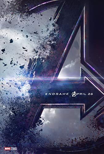 Lionbeen Avengers Endgame Movie Poster Cartel de la Pelicula 70 X 45 cm