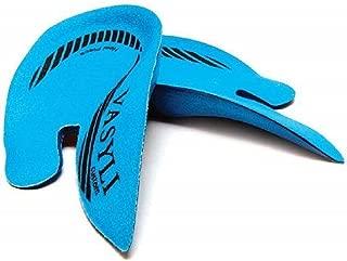 Vasyli Custom Orthotics Heel Pain Orthotic (Small, Blue Multi)