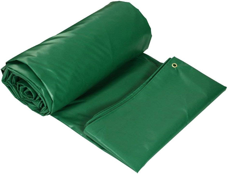 Auen dicke wasserdichte Plane Plane Grüne Zeltplanen Schwerlastplane Geeignet für outdoor-reisen camping schwimmbad set picknick auto camping wandern fischen pet cargo set (gre   4  3m)