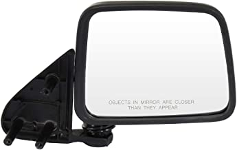 SCITOO Side View Mirrors A Pair of Mirrors Fit Compatible with 1986-1997 Nissan Pickup 1986-1994 Nissan D21 1987-1995 Nissan Pathfinder Manual Adjustment Manual Folding