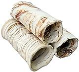 Aquanetta escondite para peces en forma de bloque de tubos de cerámica para acuario, abiertos en ambos extremos, versiones de color disponibles.