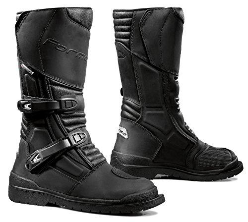 Forma Stivali Moto Cape Horn WP omologata CE, Nero, 40