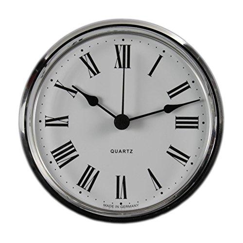 Cloxinelle Uhrwerk   Einsteckuhrwerk   Einbau-Uhr   Modellbau-Uhr   Quartz Uhrwerk   Ø 103 mm   Nr.8076