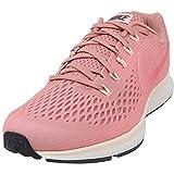 Nike Women's Air Zoom Pegasus 34 Running Shoe (6, Rust Pink Tropical Pink)