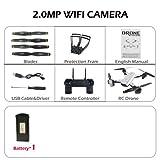 Zantec sg7002MP rc Drone et Contrôle avec Caméra WiFi FPV Pliable sans Tête vs e58 200w/Fotocamera