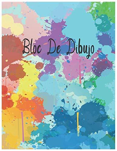 bloc de dibujo: Cuaderno para dibujar, escribir, pintar, dibujar o garabatear, diseños de tatuajes, animación, gráfico 120 páginas ( 8_5x11 )