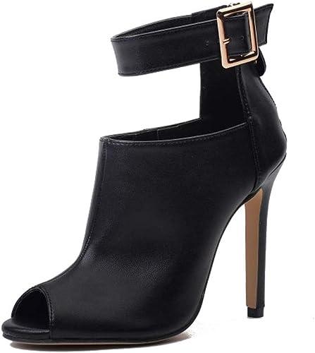 YAN damen es Fashion schuhe Ultra High Heels Sexy Stiletto Schuhe Dress schuhe T-Stage Catwalk Hochzeit Party & Evening,A,39