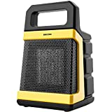 BIMONK 1800 Watt Ceramic Space Heater with Adjustable Thermostat, Fast Heating for Small
