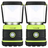 Consciot Ultra Bright LED Camping Lantern with 1000LM, D Battery Powered, 4 Light Modes, Dimmable...