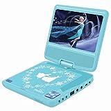 Lettore DVD portatile Frozen 2, schermo rotante da 7