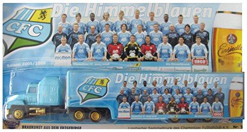 Einsiedler Nr.38 - Die Himmelblauen CFC - Saison 2005-2006 - Mack Hauber - US Sattelzug